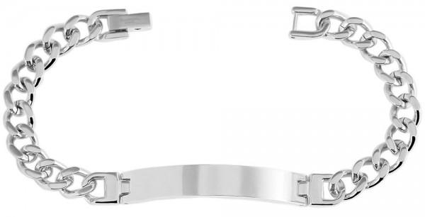 Akzent Panzerketten-Armband aus Edelstahl