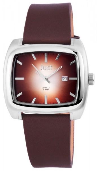 Just JU170 Analog Herrenuhr mit Echtlederband - UVP 39,95 €