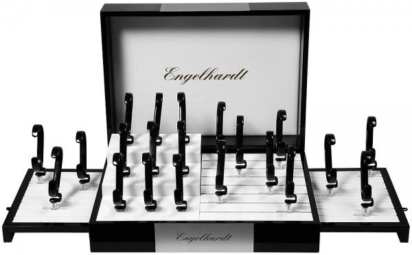 Engelhardt Display schwarz/silber