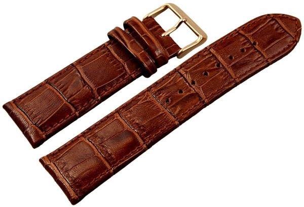 Engelhardt Lederband, braun 24 mm