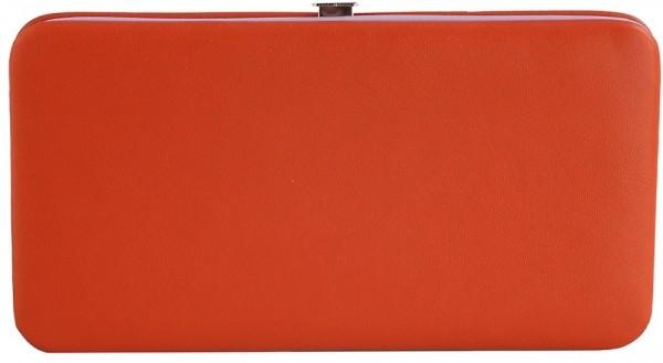 Damen Geldbörse aus Lederimitat. Format 18 x 10 cm.