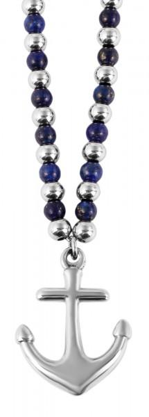 Akzent Edelstahl Halskette, 55+5cm