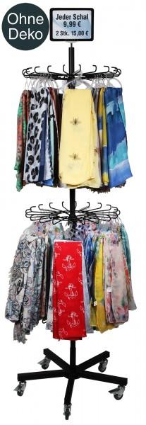Verkaufsständer für Schals, Maße: 176 x 60 cm
