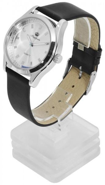 kleiner Uhrenständer, transparent (ohne Deko)
