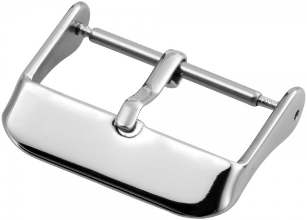 Dornenschließe (VE 5), silber, 24 mm
