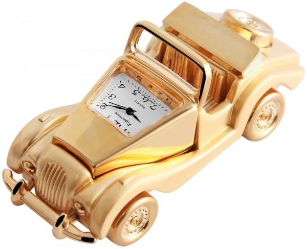 Royaltime Miniaturuhr - Auto - Größe 9,2 cm