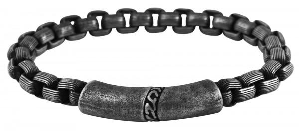Akzent Edelstahl Armband, 22,5 cm