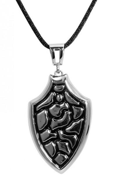 Akzent Textil Halskette, Länge: 50 cm / Stärke: 2 mm