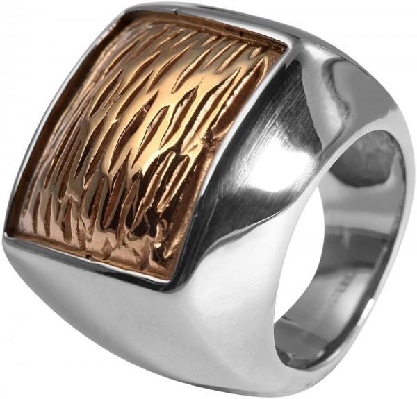 Herren-Ring aus Edelstahl