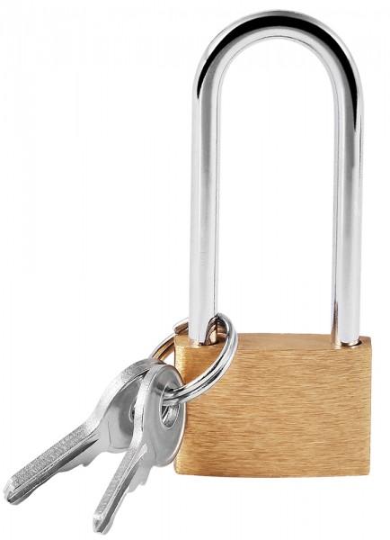 Schloss mit 3 Schlüsseln, 23 mm