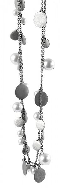 Metall Damen Ankerkette, Länge: 100 cm / Stärke: 3 mm