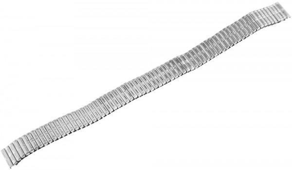 Uhren Ersatz Zugband , silberfarbig , 12 mm , länge : 17,5 cm