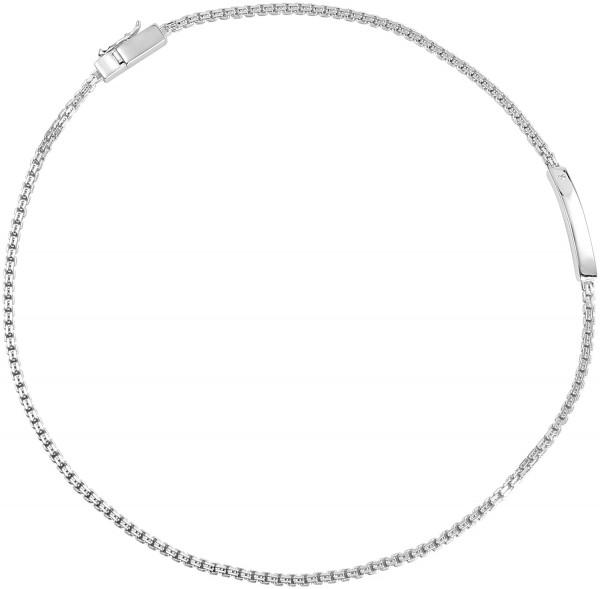 Esprit Geflochtenes Armband aus 925er Silber in silberfarbig