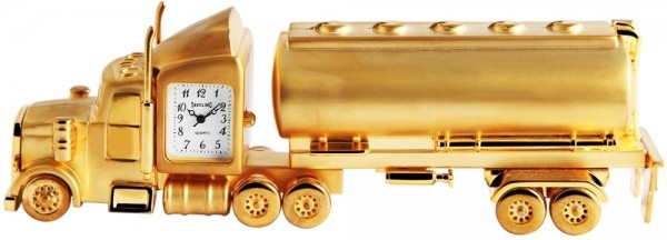 Tavolino Miniaturuhr - Tankwagen -