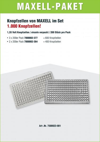 Maxell Aktionspaket Industrieware 377 & 364