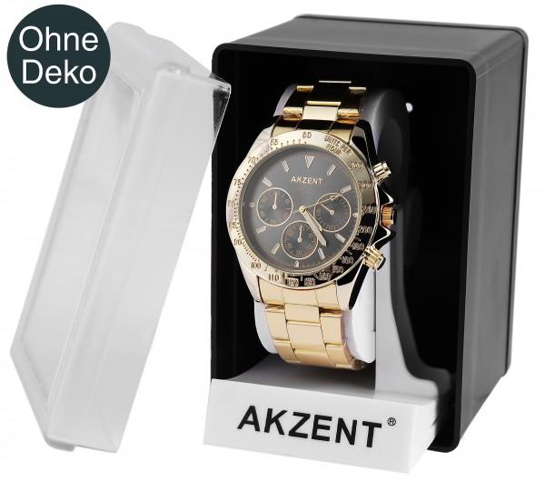 Akzent Uhrenbox, Kunststoff, 11 cm x 7,5 cm x 8 cm