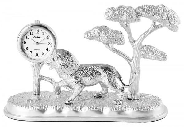 Dawn Miniaturuhr - Löwe Baum -