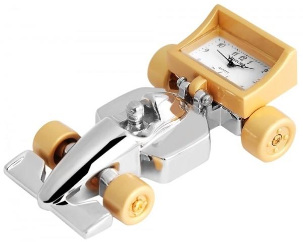 Tavolino Miniaturuhr - Rennwagen - Größe 7,2 cm