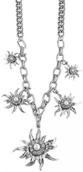 Cham Cham Metall Damen Erbskette, Länge: 50 cm / Stärke: 7 mm