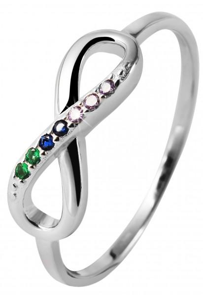 925 Silber Ring, 925/rhodiniert, 1,28g