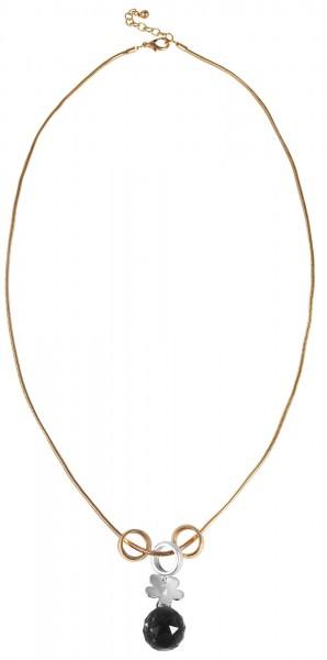 Cham Cham Metall Damen Schlangenkette, Länge: 80 cm / Stärke: 2 mm