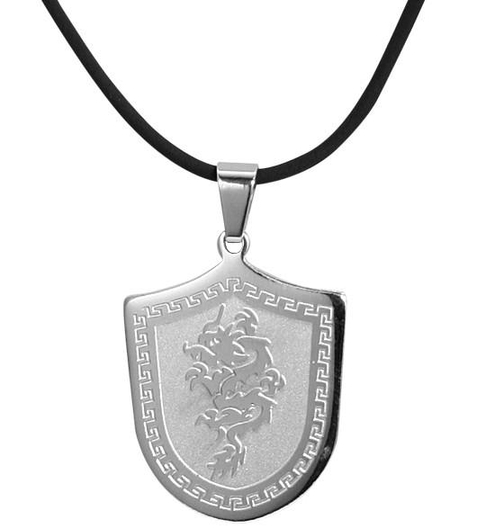 Akzent Kunststoff Halskette, Länge: 55 cm / Stärke: 2 mm