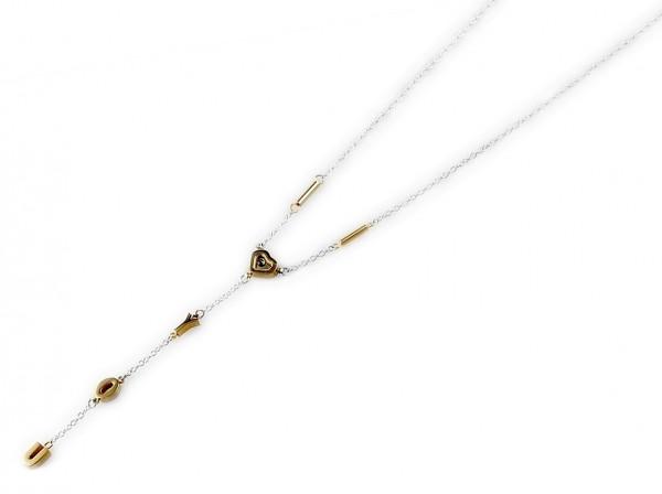 Akzent Edelstahl Halskette, Länge: 0 cm / Stärke: 0 mm