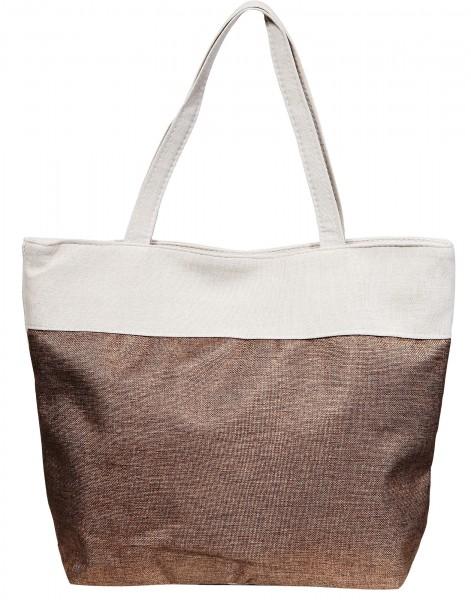 Damen Handtasche aus Textil, Maße: 48 x 36 x 13 cm