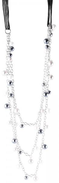 Metall Damen Ankerkette, Länge: 80 cm / Stärke: 10 mm