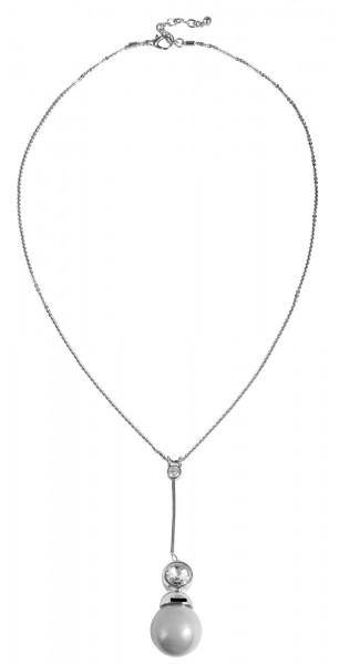 Metall Damen Halskette, Länge: 68 cm / Stärke: 2 mm