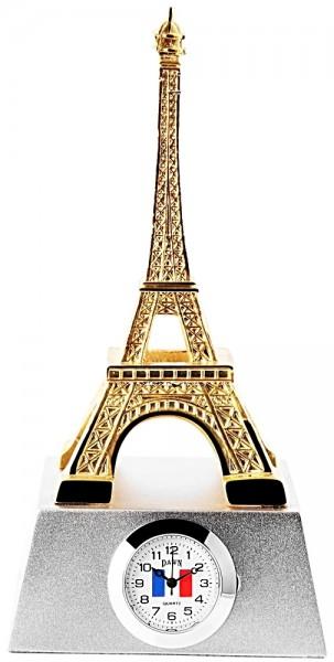 Dawn Miniaturuhr - Eiffelturm - Größe 12,8 cm