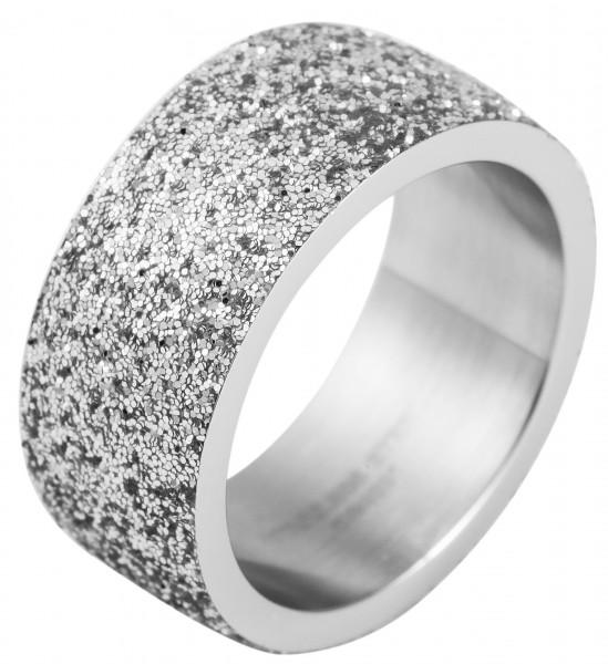 Akzent Damen-Ring aus Edelstahl