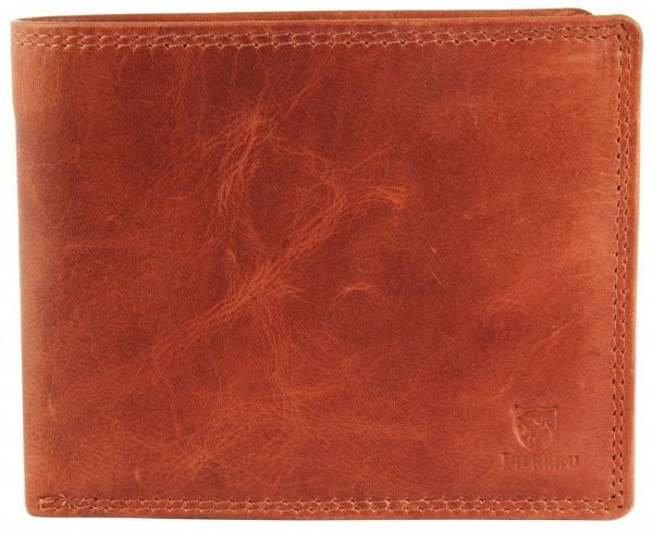 Pierrini Herren Geldbörse aus Echtleder. Format 12 x 10 cm.
