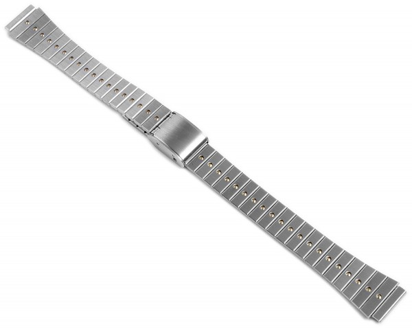 Gliederband Edelstahl Armband in bicolor, 12 mm