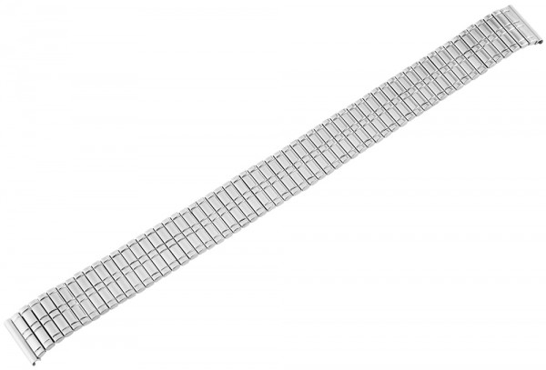 Zugband Metall Armband in silber, , , 14 mm