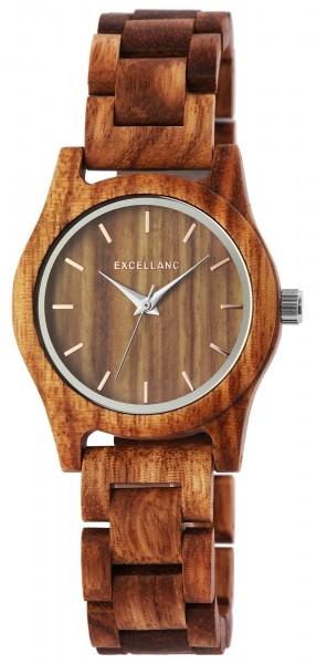 Excellanc Damenuhr aus Holz