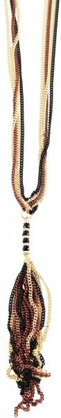 Shaghafi Metall Damen Ankerkette, Länge: 90 cm / Stärke: 4 mm