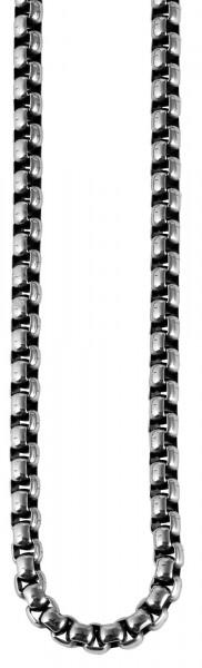 Akzent Edelstahl Herren Erbskette, Länge: 60 cm / Stärke: 5 mm