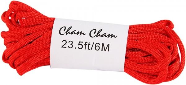Cham Cham Bänder, 6 m, rot, VE 3