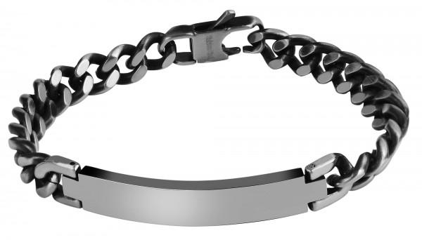 Edelstahl Armband, Länge: 21 cm