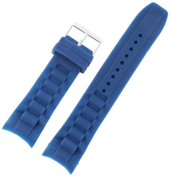 Basic Silikon Armband in glatt flach