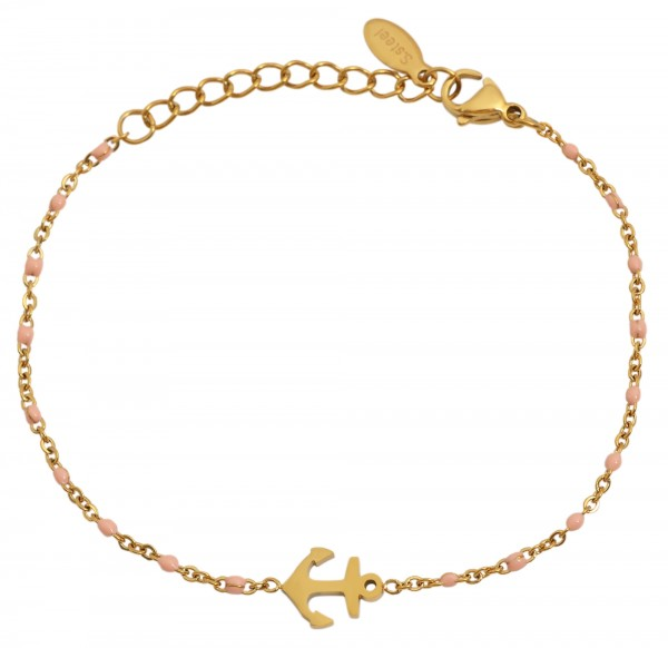 Edelstahl Armband, Länge 15+4cm