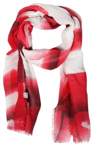 Damenschal aus 80% Polyester 20% Cotton, Maße: 90 x 180 cm