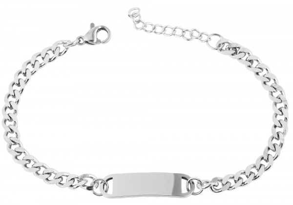 Edelstahl Armband , 17 + 3 cm