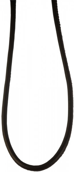 Akzent Echtleder Halskette, Länge: 48 cm / Stärke: 3 mm