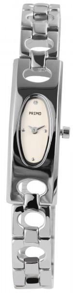 Primo Damenuhr mit Metallband
