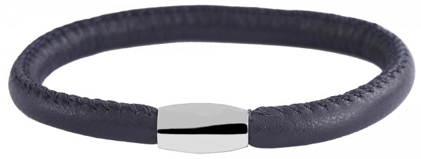 Cham Cham Echt-Leder Rundarmband, Länge 20 cm, Ø 6,7 mm