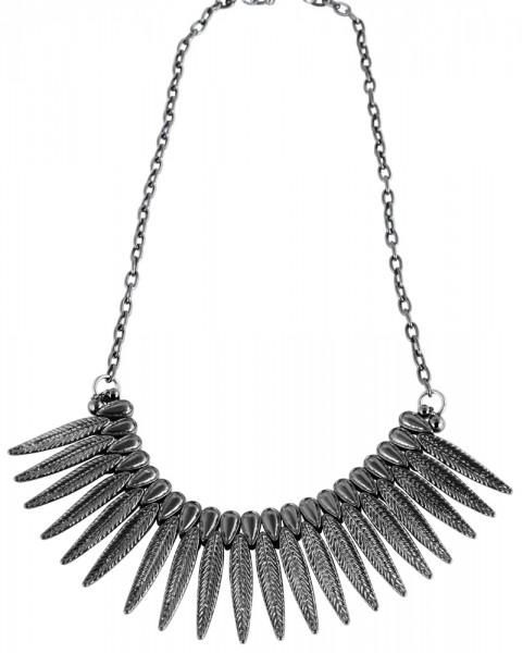 Metall Damen Ankerkette, Länge: 45 cm / Stärke: 4 mm