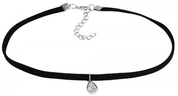 Textil Damen Halskette, Länge: 31 cm / Stärke: 5 mm
