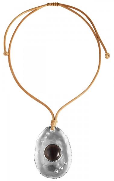 Cham Cham Textil Damen Halskette, Länge: 80 cm / Stärke: 3 mm